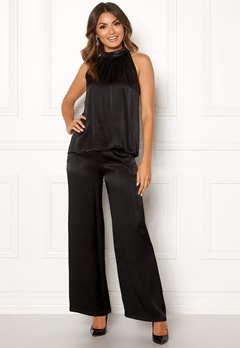 co'couture Blair Hilton Pants Black Bubbleroom.fi