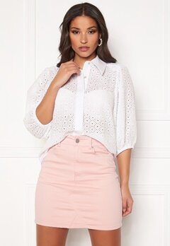 co'couture Briela Anglaise Shirt White Bubbleroom.fi