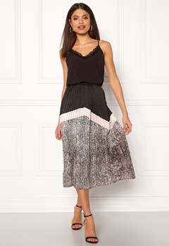 co'couture Cobra Plisse Skirt Nude Rose Bubbleroom.fi