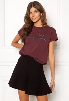 co'couture Cosma Dot Couture Tee 125 Berry Bubbleroom.fi