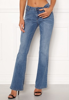 co'couture Denzel Boot Cut Jeans Bleach Denim Bubbleroom.fi