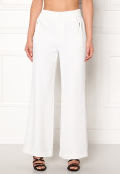 co'couture Eden Flare Pant Pants Offwhite Bubbleroom.fi