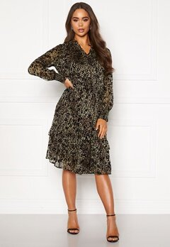 co'couture Gemma Frill Dress Army Bubbleroom.fi
