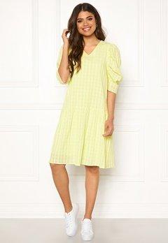 co'couture Idali Puffy Dress Yellow Bubbleroom.fi