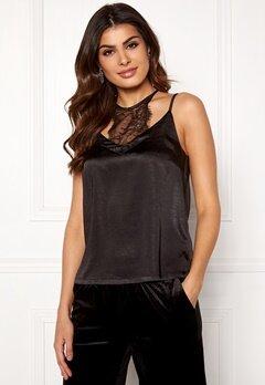co'couture Mirage Lace Top Black Bubbleroom.fi