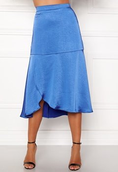 co'couture Mirage Sateen Skirt New Blue Bubbleroom.fi