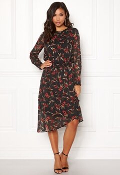 co'couture Ovida Smock Dress Black Bubbleroom.fi