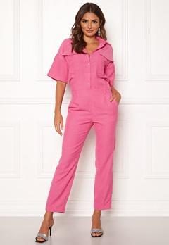 co'couture Parnella Jumpsuit Flash Pink Bubbleroom.fi