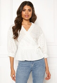 co'couture Trinetta Anglaise Shirt White Bubbleroom.fi