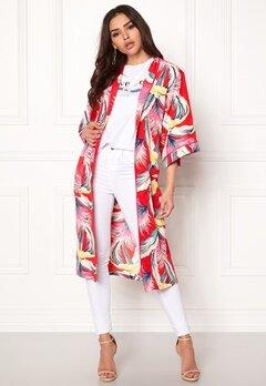 co'couture Tropical Kimono Rio Red Bubbleroom.fi