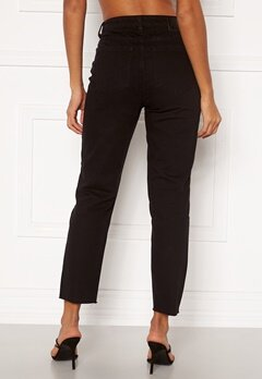OBJECT Connie Cropped Jeans Black Bubbleroom.fi
