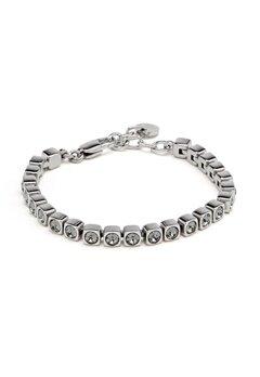 Dyrberg/Kern Cory SS Bracelet Shiny Silver Bubbleroom.fi