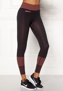 Craft Core Block Tights Dahlia/Black Bubbleroom.fi