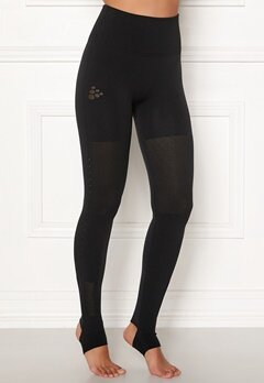 Craft UNTMD Warpknit Tights Black Bubbleroom.fi