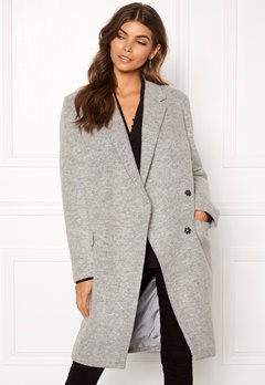 DAGMAR Anissa Coat Light Grey Melange Bubbleroom.fi
