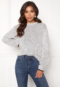 DAGMAR Bel Sweater Salt&Pepper Bubbleroom.fi