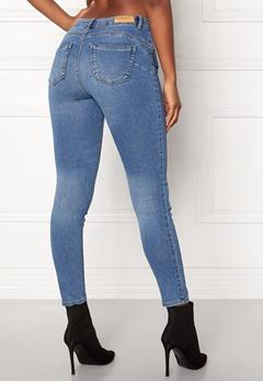ONLY Daisy Reg Pushup Ankle Jeans Light Blue Denim Bubbleroom.fi