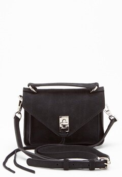 Rebecca Minkoff Darren Group Leather Bag 001 Black/Silver Bubbleroom.fi