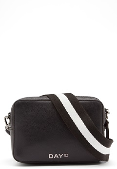 Day Birger et Mikkelsen Day Patch Leather Bag 12000 Black Bubbleroom.fi