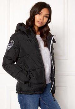 D.Brand Eskimå Jacket Black/Black Bubbleroom.fi