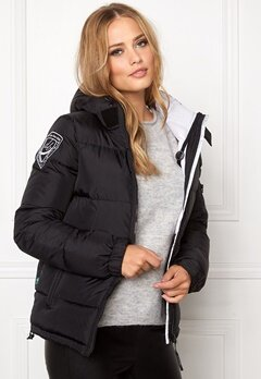 D.Brand Eskimå Jacket Musta Bubbleroom.fi