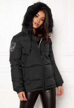 D.Brand Eskimå Short Jacket Black/Black Bubbleroom.fi