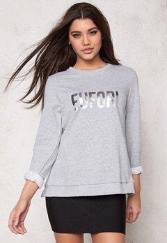 D.Brand Eufori Sweatshirt Grey Bubbleroom.fi
