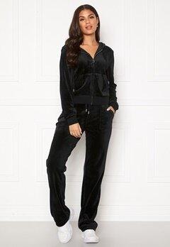 Juicy Couture Del Ray Classic Velour Pant Black Bubbleroom.fi