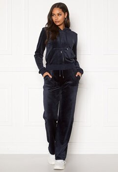 Juicy Couture Del Ray Classic Velour Pant Night Sky bubbleroom.fi
