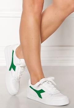 Diadora B.Elite Original Shoes White/Jelly Bean Bubbleroom.fi