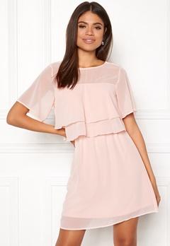 VERO MODA Dora SS Short Dress Sepia Rose Bubbleroom.fi