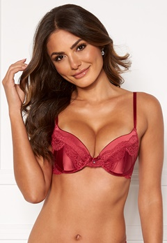DORINA Anderson Push Up Bra E71-Red Bubbleroom.fi