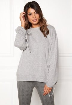 Dr. Denim Aisie Sweater Light Grey Mix Bubbleroom.fi