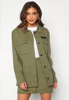Dr. Denim Karena Jacket Light Emerald Bubbleroom.fi