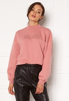 Dr. Denim Memphis Sweatshirt M97 Rose Blush NV Em Bubbleroom.fi