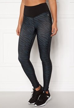 Drop of Mindfulness Bow II Leggings 939 Zebra Bubbleroom.fi