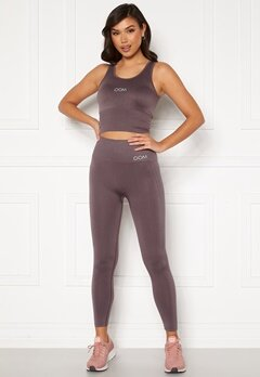 Drop of Mindfulness Cora seamless leggings Dusty plum Bubbleroom.fi