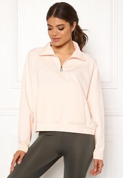 Drop of Mindfulness Essa Zipped Sweater 518 Pink Stone Bubbleroom.fi