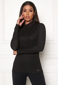Drop of Mindfulness Madelyn Rib Sweater 001 Black Bubbleroom.fi
