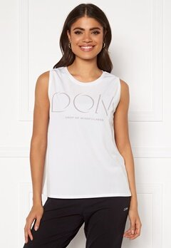 Drop of Mindfulness McKenzie Top White Bubbleroom.fi