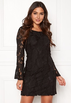 DRY LAKE Beatrice Dress Black Bubbleroom.fi
