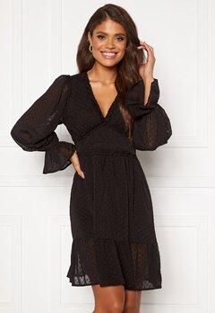 DRY LAKE Cassandra Dress 275 Black Chiffon Ja Bubbleroom.fi