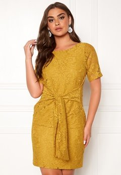 DRY LAKE Daisy Dress 715 Yellow Lace Bubbleroom.fi