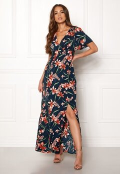 DRY LAKE Jasmin Long Dress Petal Print Bubbleroom.fi