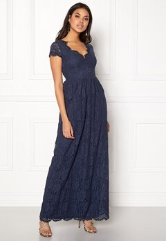 DRY LAKE Keyla Dress Deep Navy Bubbleroom.fi