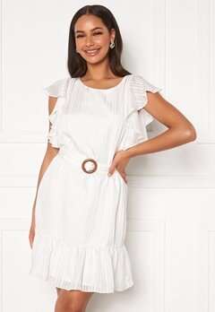 DRY LAKE Kharma Dress 142 White Stripe Jac Bubbleroom.fi