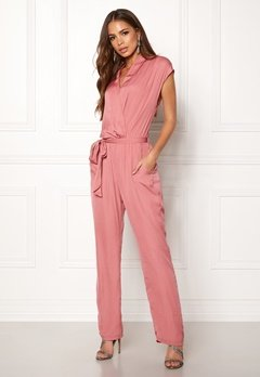 DRY LAKE Mabel Playsuit Dull Pink Bubbleroom.fi