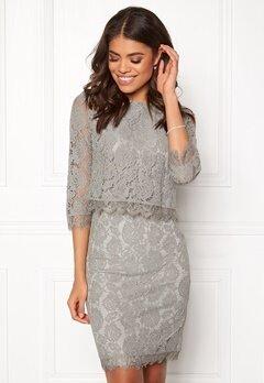 DRY LAKE Malou Dress Light Grey Bubbleroom.fi