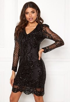 DRY LAKE Marinda Dress 001 Black Bubbleroom.fi