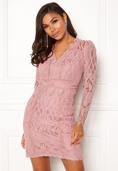 DRY LAKE Miranda Dress Misty Rose Bubbleroom.fi